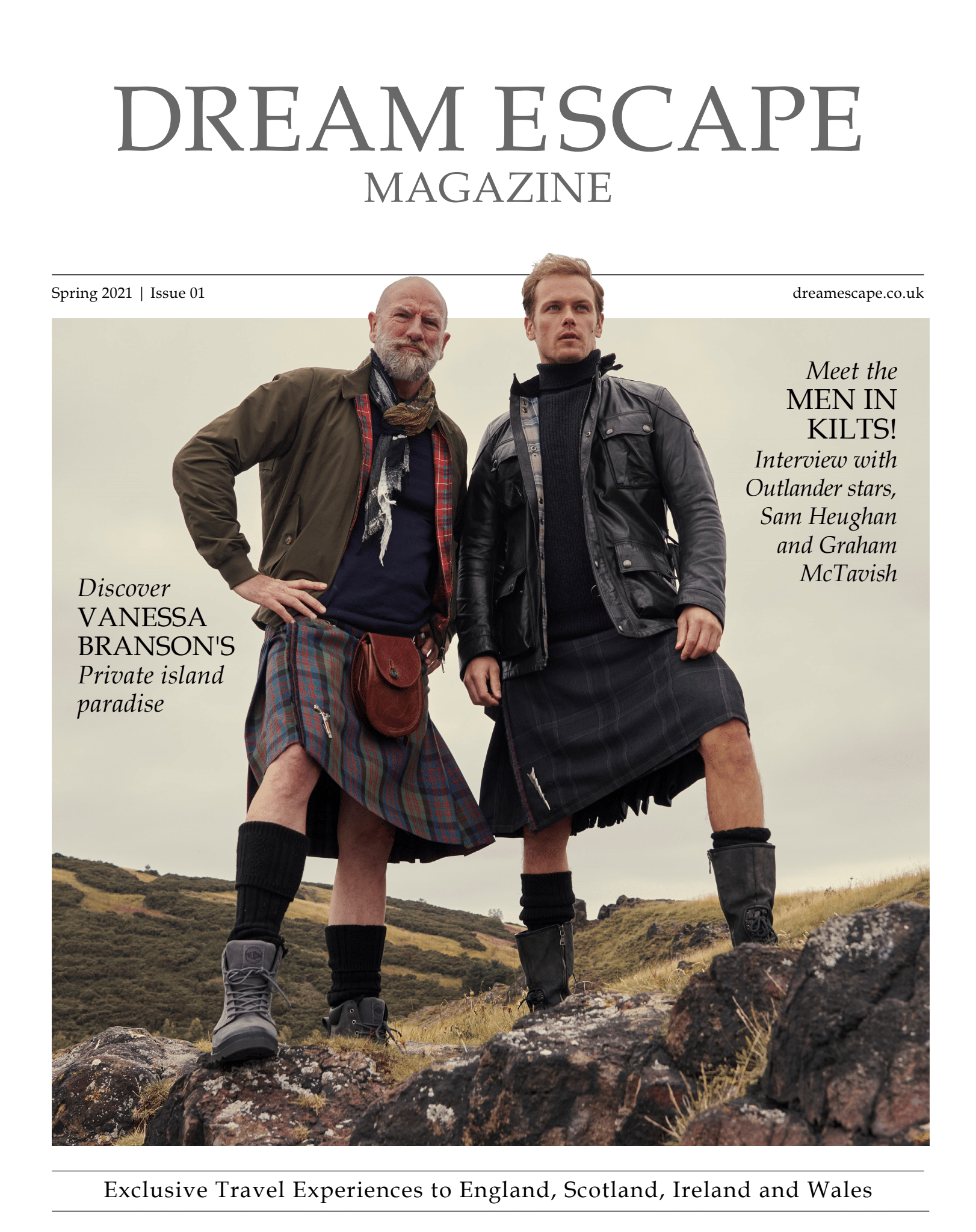 cover for Spring Issue 2021